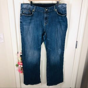 Seven7 Premium straight denim jeans plus size 22